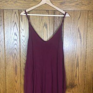 Lulu's Dresses - Lulus Yours Tule Burgundy Maxi Dress